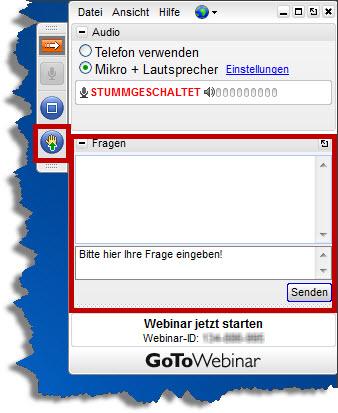 GoToWebinar Panel